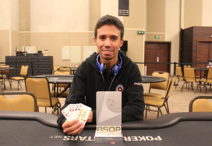 Julian Aguiar - Campeão PLO Dealers Choice BSOP Brasília
