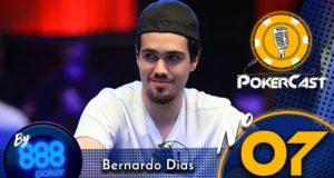 Pokercast by 888poker - Bernardo Dias