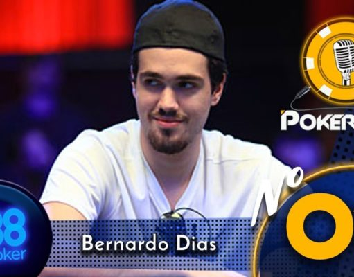 Pokercast by 888poker - Bernardo Dias