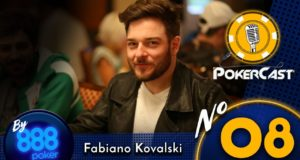 Pokercast by 888 #08 - Fabiano Kovalski