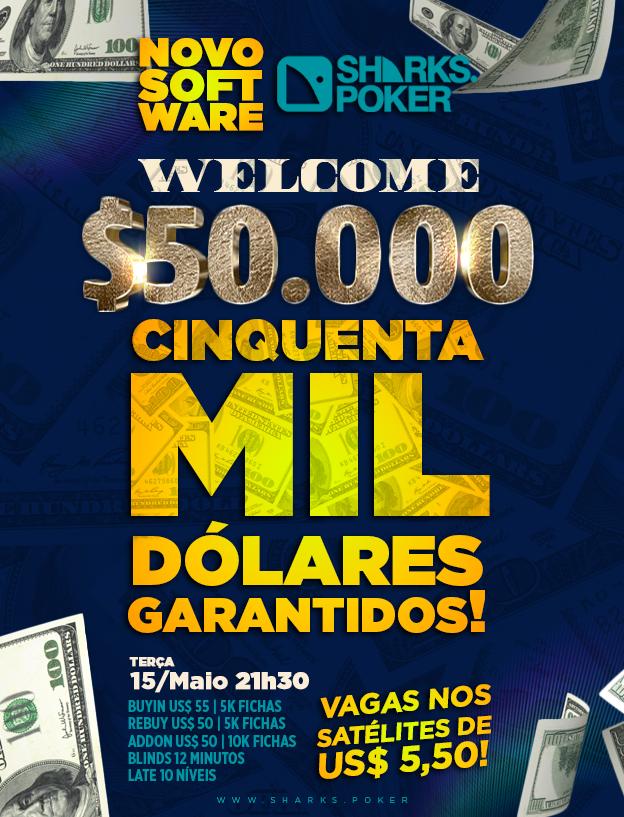 50K GTD - Sharks Poker