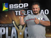 Rogério Pereira campeão do torneio All in ou Fold do BSOP Natal