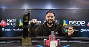 Saulo Sabioni campeão do Main Event do BSOP Natal