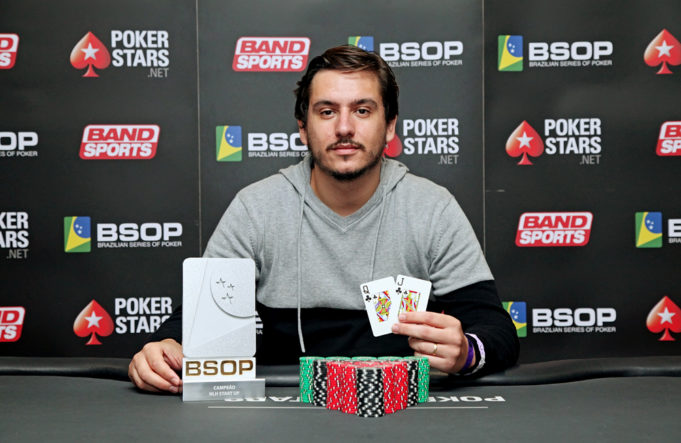 Richard Netto campeão do Start Up do BSOP Natal