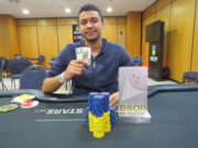 Matheus Gomes do Turbo Knockout do BSOP Natal