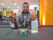 Agileudo Fernandes campeão do Omaha Dealers Choice do BSOP Natal