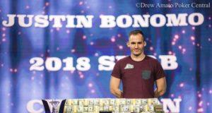 Justin Bonomo campeão do Super High Roller Bowl