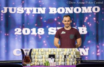 Justin Bonomo campeão do Super High Roller Bowl