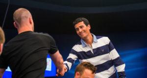 Sadri Saleh bolha da mesa final do EPT Monte Carlo