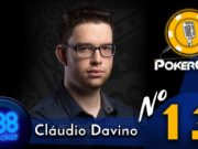 Pokercast by 888poker #13 - Cláudio Davino