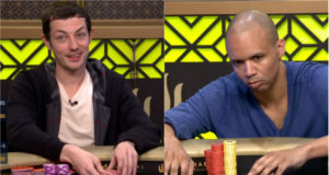 Tom Dwan e Phil Ivey no Triton Super High Roller Series