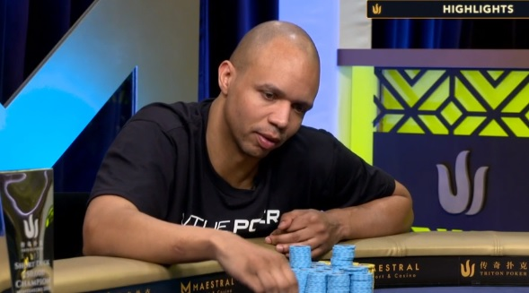 Phil Ivey - Triton Super High Roller Series
