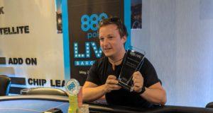 Luka Cencelj - Campeão Opening Event 888poker Live Barcelona