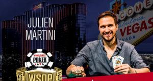 Julien Martini - Campeão Evento #4 - WSOP 2018