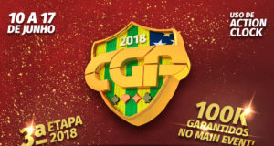 Terceira etapa do Campeonato Goiano de Poker