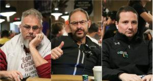 Ademir Cuch, Gorki Oliveira e Bruno Foster