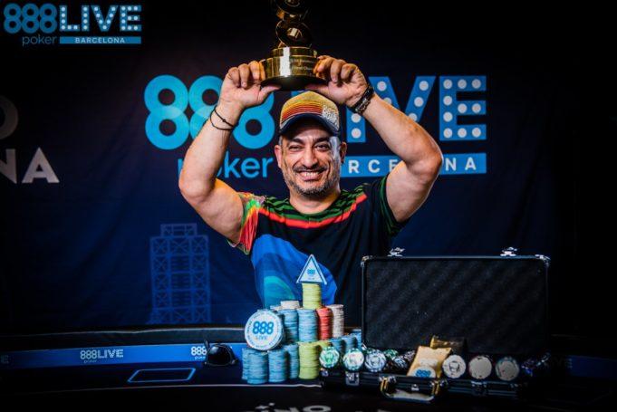 Adrian Constantin campeão do Main Event do 888poker Live Barcelona
