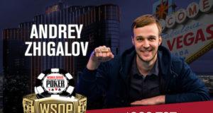 Andrey Zhigalov campeão do Evento #15 da WSOP