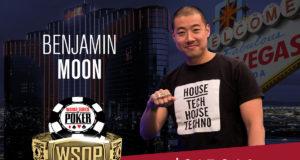 Benjamin Moon campeão do Evento #13 da WSOP