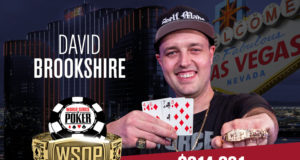 David Brookshire campeão do Evento #46 da WSOP