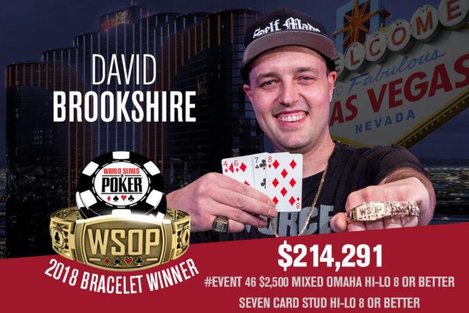 David Brookshire campeão do Evento #46 da WSOP