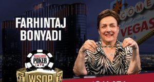 Farhintaj Bonyadi campeã do Super Seniors da WSOP