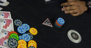 All in ou fold no MasterMinds 10