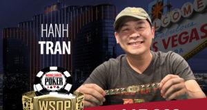 Hanh Tran campeão do Evento #29 da WSOP