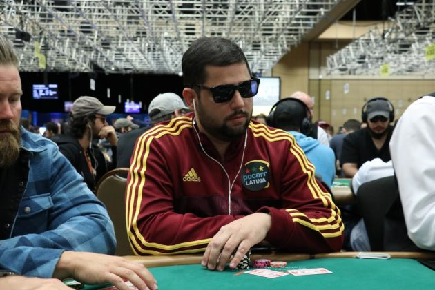 Leandro Burlamaqui - Evento 48B - WSOP 2018