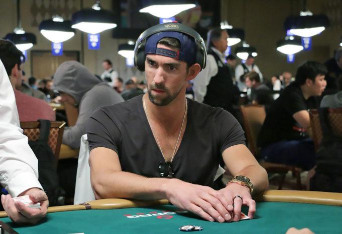 Michael Phelps - WSOP 2018