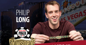 Philip Long - Campeão Evento 22 - WSOP 2018