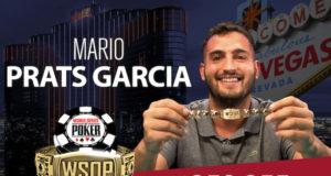 Mario Prats Garcia campeão do Evento #45 da WSOP