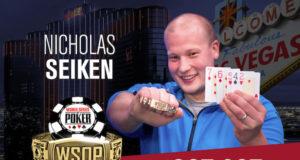Nicholas Seiken campeão do Evento #44 da WSOP
