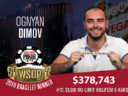 Ognyan Dimov campeão do Evento #15 da WSOP