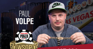 Paul Volpe campeão do Evento #9 da WSOP