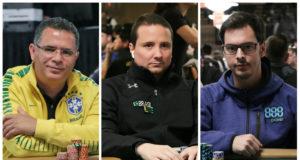 Roberly Felício, Bruno Foster e Nicolau Villa-Lobos