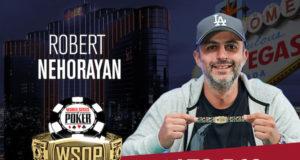 Robert Nehorayan campeão do Evento #41 da WSOP