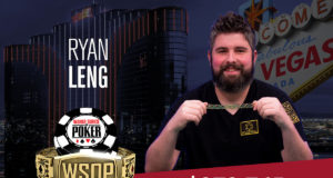 Ryan Leng campeão do Evento #51 da WSOP