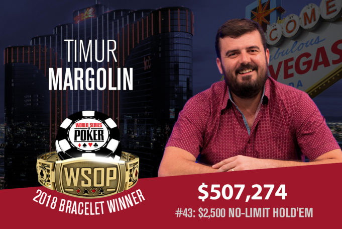 Timur Margolin campeão do Evento #43 da WSOP