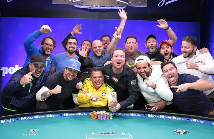 Roberly Felício - Campeão do Colossus - WSOP 2018