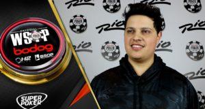 Affif Prado na WSOP 2018