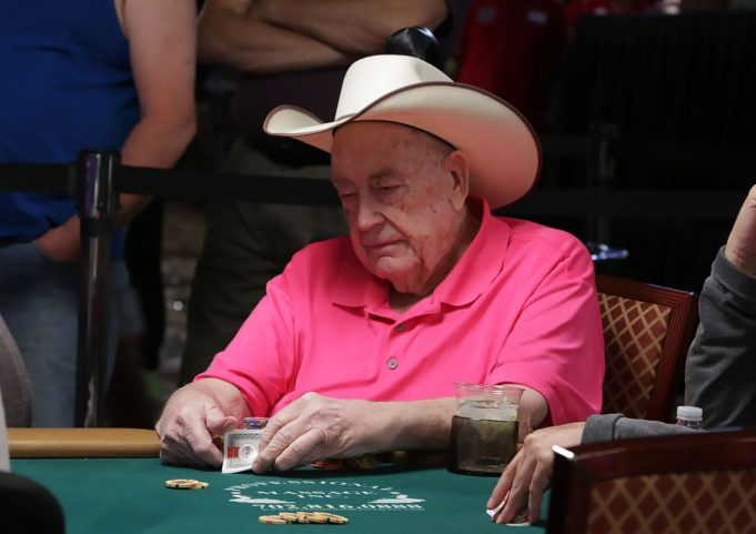 Doyle Brunson - WSOP 2018