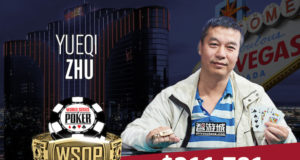 Yueqi Zhu campeão do Evento #35 (US$ 1.500 Mixed Omaha) da WSOP