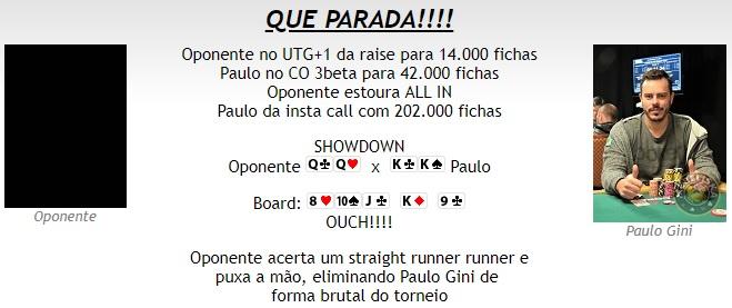 Paulo Gini na WSOP