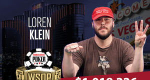 Loren Klein - Campeão Evento #49 - WSOP 2018