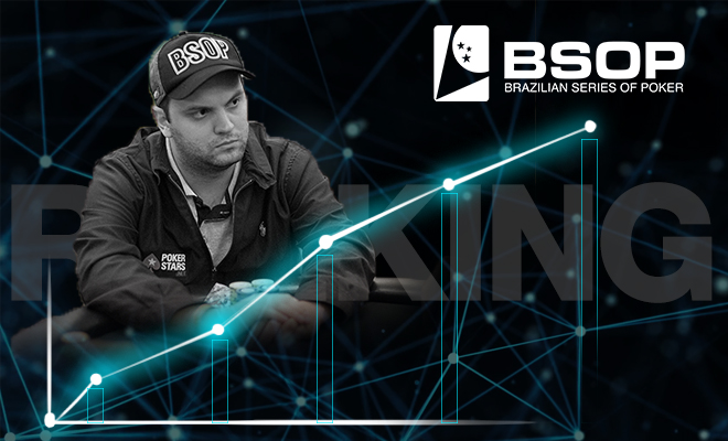 Saulo Sabioni é líder do ranking do BSOP