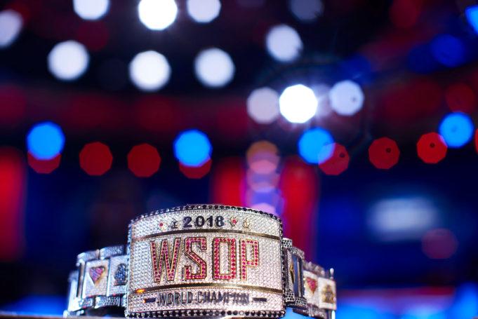 Bracelete do Main Event - WSOP 2018