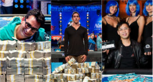 Antonio Esfandiari, Dan Colman e Elton Tsang campeões do Big One for One Drop