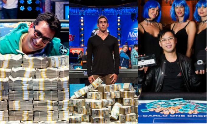 Antonio Esfandiari, Dan Colman e Elton Tsang campeões do Big One for One Drop
