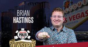Brian Hastings campeão do Evento #76 da WSOP